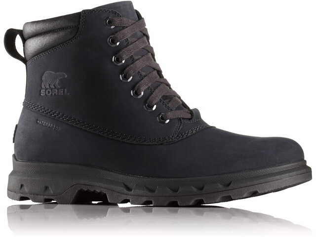 Sorel Portzman Lace Shoes Herren black/black